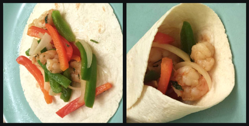 Shrimp Fajitas